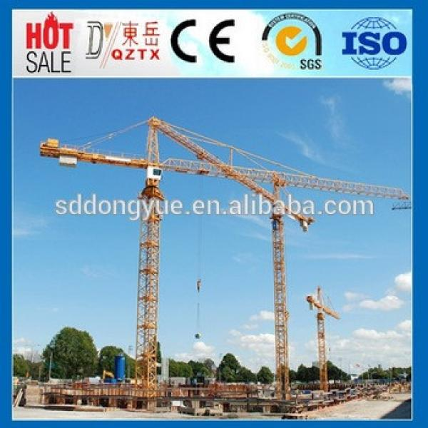 High Efficiency QTZ63 small Tower Crane for Sale,Tower Crane Price #1 image