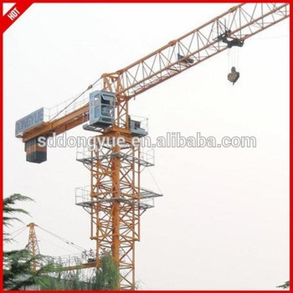 China Luffing jib Self erecting Tower Crane Price #1 image