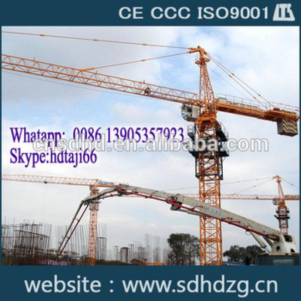 New QTZ160(6516) 10t tower crane price for sale with CE/CCC/ISO9001 Certificates for sale #1 image