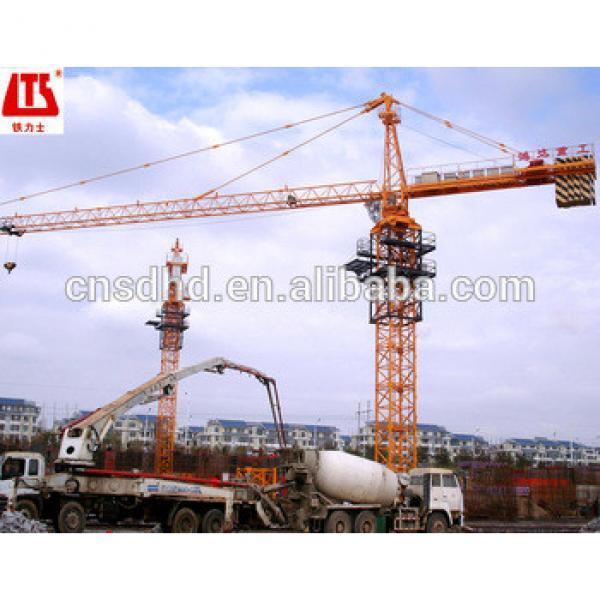 QTZ125F tower crane 65m jib tower crane 10t tower crane #1 image