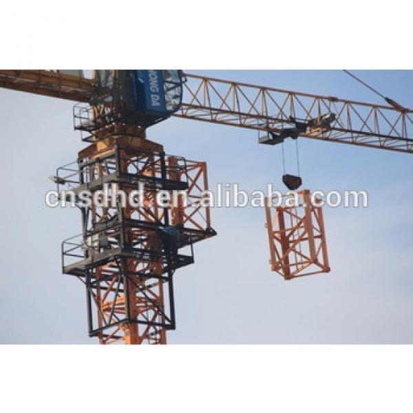 Shandong Hongda Good Condision TC5610 new 6t tower crane #1 image