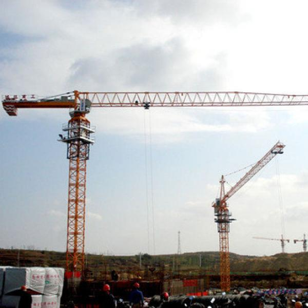 Shandong Hongda SCM 8t Flat Top Tower Crane #1 image